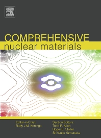 Comprehensive Nuclear Materials, 1st Edition,Rudy Konings,ISBN9780080560335