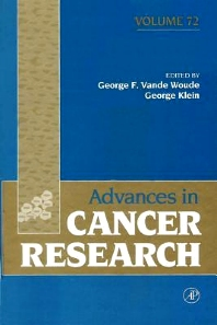 Advances in Cancer Research, 1st Edition,George Vande Woude,George Klein,ISBN9780080562544