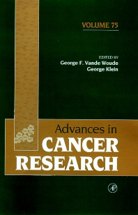 Advances in Cancer Research, 1st Edition,George Vande Woude,George Klein,ISBN9780080562575