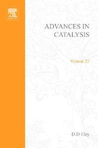 ADVANCES IN CATALYSIS VOLUME 22