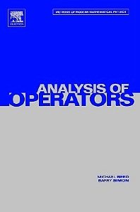 Cover image for IV: Analysis of Operators