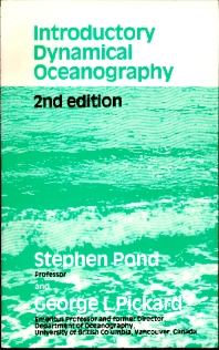 Cover image for Introductory Dynamical Oceanography