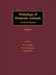 Cover image for Pathology of Domestic Animals