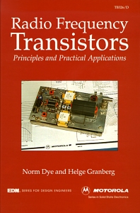 Radio Frequency Transistors - 1st Edition - ISBN: 9780080571430