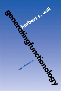 Generating Functionology - 2nd Edition - ISBN: 9780080571515