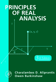 Principles of Real Analysis - 3rd Edition - ISBN: 9780120502578, 9780080573106