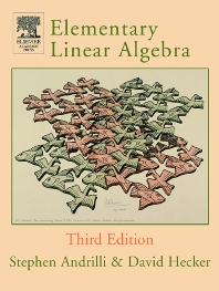 Cover image for Elementary Linear Algebra
