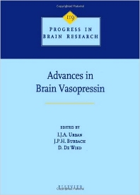 Advances in Brain Vasopressin, 1st Edition,I.J.A. Urban,J.P.H. Burbach,D. De Wied,ISBN9780080862446