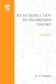 An Introduction to Transform Theory - 1st Edition - ISBN: 9780080873558