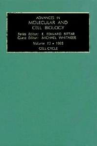 Cell Cycle, 1st Edition,Michael Whitaker,ISBN9780080876955