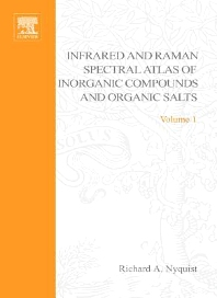 Handbook of Infrared and Raman Spectra of Inorganic Compounds and Organic Salts - 1st Edition - ISBN: 9780080878539
