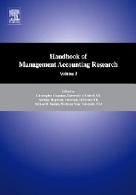 Handbooks of Management Accounting Research 3-Volume Set - 1st Edition - ISBN: 9780080879291