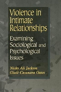 Cover image for Violence in Intimate Relationships: Examining Sociological and Psychological Issues