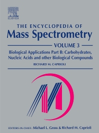 Cover image for The Encyclopedia of Mass Spectrometry
