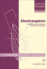 Electrooptics - 1st Edition - ISBN: 9780120445127, 9780080916323