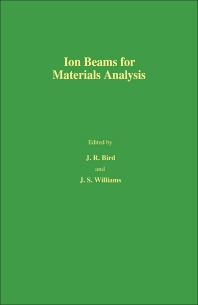 Cover image for Ion Beams for Materials Analysis