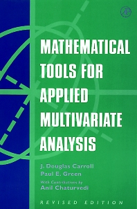 Cover image for Mathematical Tools for Applied Multivariate Analysis