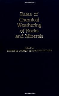 Cover image for Rates of Chemical Weathering of Rocks and Minerals