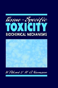 Cover image for Tissue-Specific Toxicity