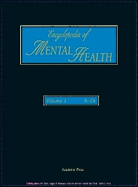 Cover image for Encyclopedia of Mental Health, Volume 1