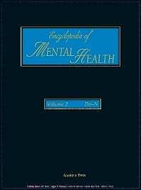 Encyclopedia of Mental Health, Volume 2 - 1st Edition - ISBN: 9780122266775, 9780080917764