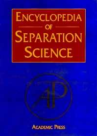 Encyclopedia of Separation Science, 1st Edition,Colin Poole,Michael Cooke,ISBN9780080917795