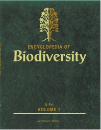 Cover image for Encyclopedia of Biodiversity