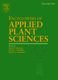 Cover image for Encyclopedia of Applied Plant Sciences