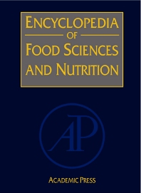 Cover image for Encyclopedia of Food Sciences and Nutrition