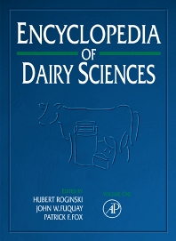 Encyclopedia of Dairy Sciences, Four-Volume Set - 1st Edition - ISBN: 9780122272356, 9780080917931