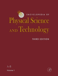 Cover image for Encyclopedia of Physical Science and Technology