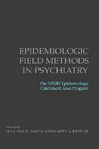 Cover image for Epidemiologic Field Methods in Psychiatry