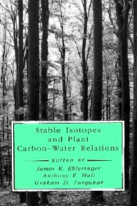 Cover image for Stable Isotopes and Plant Carbon-Water Relations