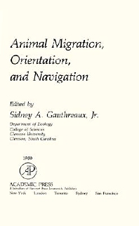 Cover image for Animal Migration, Orientation and Navigation