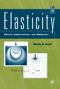 Elasticity, 2nd Edition,Martin Sadd,ISBN9780080922416