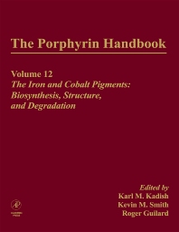 Cover image for The Porphyrin Handbook