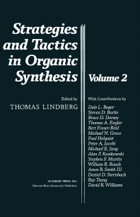 Strategies and Tactics in Organic Synthesis - 1st Edition - ISBN: 9780124502819, 9780080924298