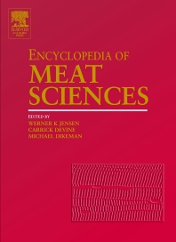 Cover image for Encyclopedia of Meat Sciences