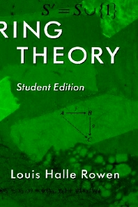 Cover image for Ring Theory, 83