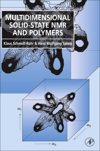 Cover image for Multidimensional Solid-State NMR and Polymers