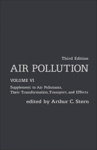 Air Pollution - 3rd Edition - ISBN: 9780126666069, 9780080926056