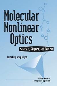 Cover image for Molecular Nonlinear Optics