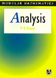 Analysis - 1st Edition - ISBN: 9780340645963, 9780080928722