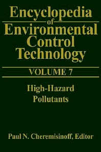 Cover image for Encyclopedia of Environmental Control Technology: Volume 7