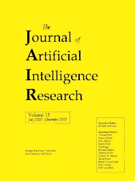 Cover image for Journal of Artificial Intelligence Research, Volume 13 (JAIR)