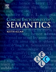Concise Encyclopedia of Semantics - 1st Edition - ISBN: 9780080959689, 9780080959696