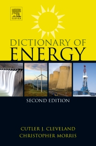 Cover image for Dictionary of Energy