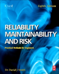 Reliability, Maintainability and Risk 8e, 1st Edition,David Smith,ISBN9780080969022