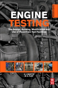 Engine Testing, 4th Edition,A. J. MARTYR,M A PLINT,ISBN9780080969497