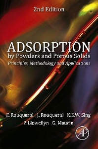 Cover image for Adsorption by Powders and Porous Solids